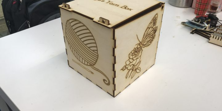 Garen doos / Yarn box