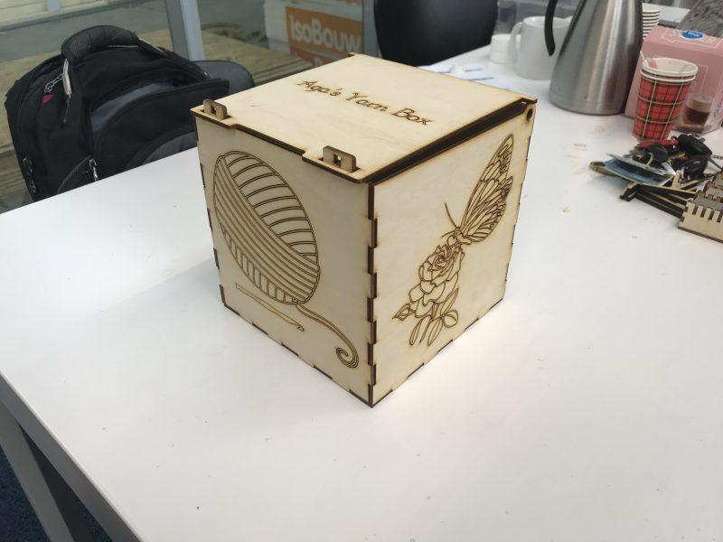 Garen doos / Yarn box