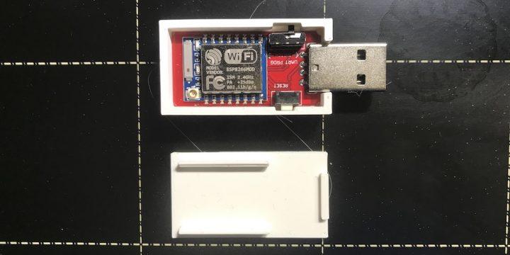 USB ESP8266 behuizing