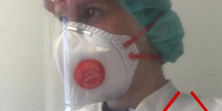 COVID-19 & spatmaskers