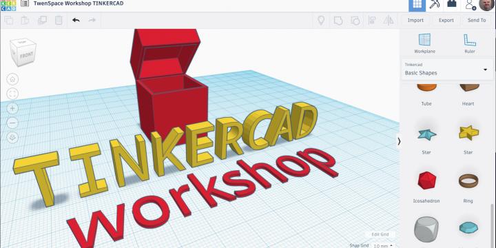 Workshop TinkerCad